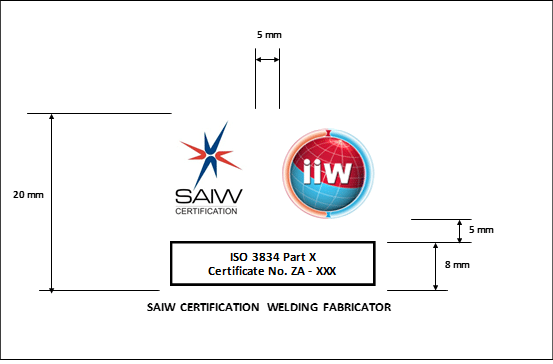 ISO 3834 Company Registration : SAIW